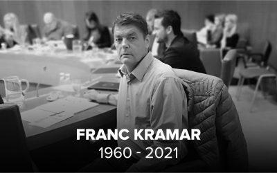 Umrl je poslanec Franc Kramar