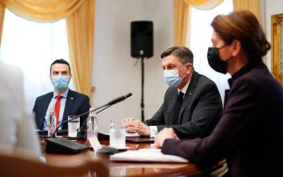 Odgovor na povabilo predsednika Pahorja